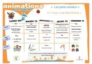 programme avril 5 7 ans 1ere semaine