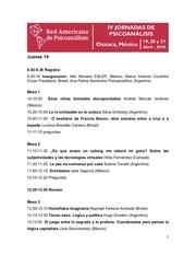 programme oaxaca mexique