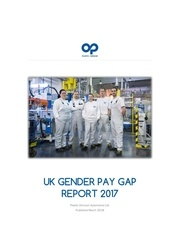 uk gender pay gap report 2017 published march 2018