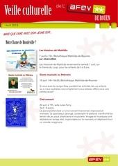 Fichier PDF veille culturelle afev d avril