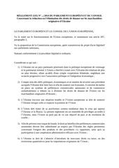 directive relative au regime preferentiel avec lukraine