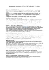 reglement du jeu concours 2 places vip 27 avril