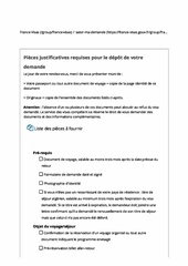Fichier PDF liste documents