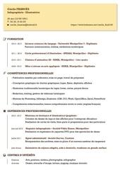 Fichier PDF cv cf