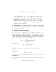 proof riemann