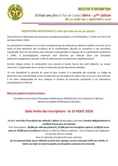 inscription participants 2018 pdc libere