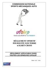 reglement sportif 2017 2018