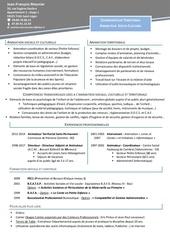 Fichier PDF cv coordinateur en animation socio culturelle