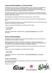 descriptions stages valmo
