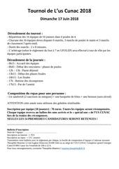 Fichier PDF tournoi 2018