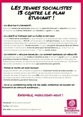 tract plan etudiant