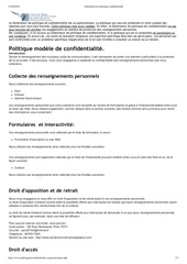 Fichier PDF ge ne rateur de politique confidentialite
