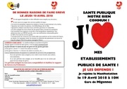 raisons de faire greve le 19 avril 2018 pdf