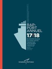 adf rapport annuel armateurs de france 2017 2018