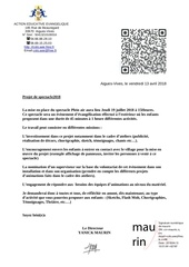 Fichier PDF animation