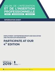 information sheet siip 2019