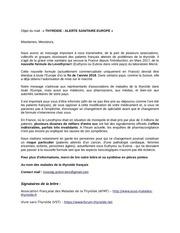 mails denvoi lettre europe toutes langues