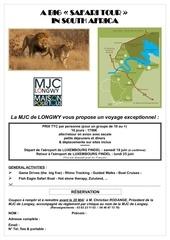 Fichier PDF safari afrique du sud