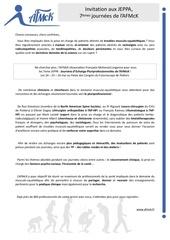 Fichier PDF courrier medecins