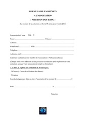 Fichier PDF 2018 bulletin adhesion