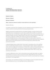 lettre aux elus pour les nivernais
