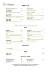 menu arganier