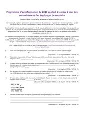 Fichier PDF mise a niveau 2018 pour pilote