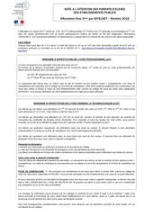 Fichier PDF note info aux parents affelnet r 2018