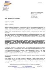 sncs lettre a mme borne 04 04 18