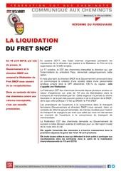 20180416 communique cheminots liquidation fret