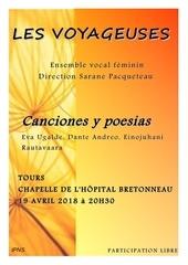 affiche concert voyageuses 19 avril 2018