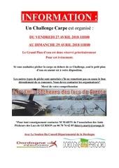 affiche information challenge avril 2018