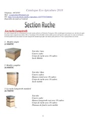 catalogue eco apiculture 2018