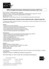 Fichier PDF offre emploi centre charles peguy echange et sejour