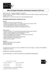 offre emploi centre charles peguy plc