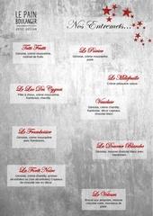 carte des entremets site web