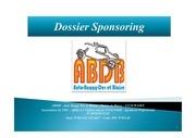dossier sponsoring abdb v7
