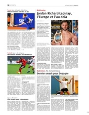 telegramme sports 19 avril 2018