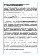 thyroede lettre europe francais