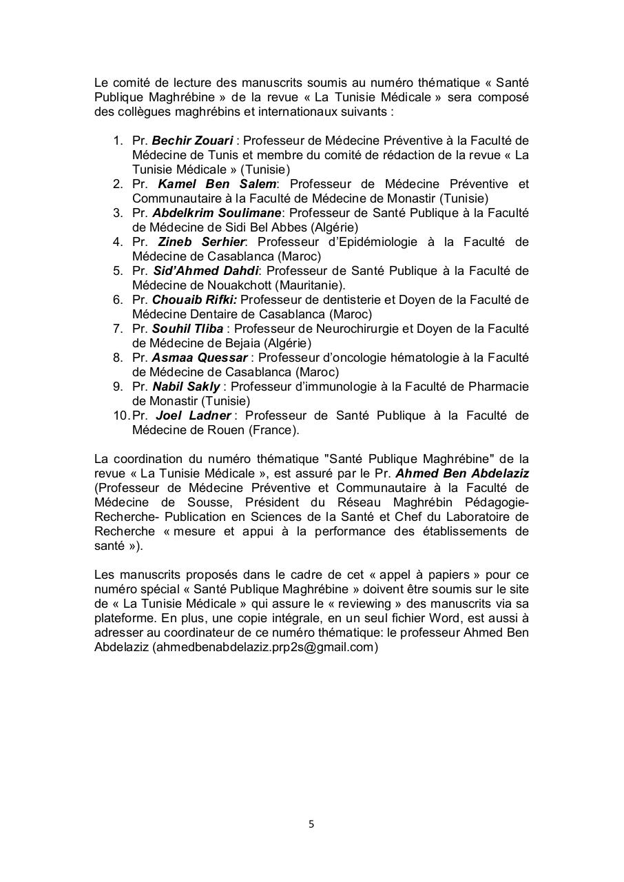 Aperçu du document Call for Papers Tunisie Médicale.PDF - page 5/6