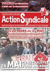 bulletin action syndicale avril mai 2018