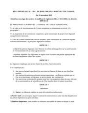 directive sur le recyclage sur des navires