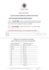 Fichier PDF taille ceintures atelier devisme