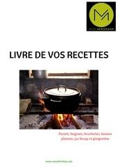 livre de recettes