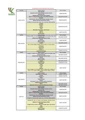 calendrier rattrapage 2018 avril mai officiel