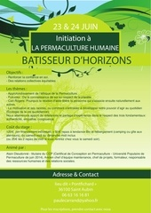 affiche permaculture humaine