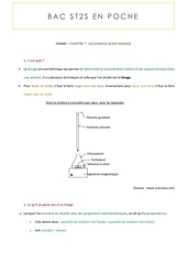 chimie exercice type resolu