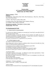 proces verbal conseil d ecole maternelle mars 2018