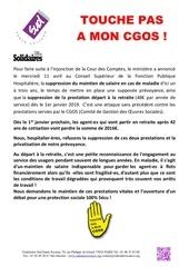 Livret Sud Sante Sociaux Cgos 2018 Par Margaux Fichier Pdf