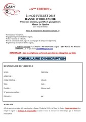 dossier inscription banne dordanche 2018